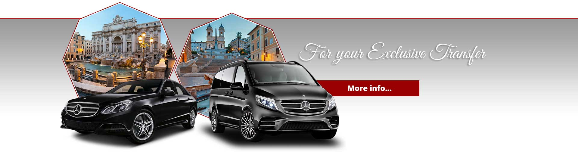 Car hire company for transfer in Rome